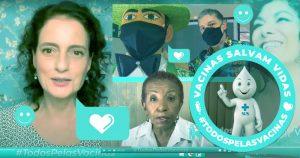 #TodosPelasVacinas une artistas e cientistas em ações pró-vacinação contra a covid-19