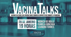 Roda de conversa on-line esclarece dúvidas sobre vacinas contra a covid-19