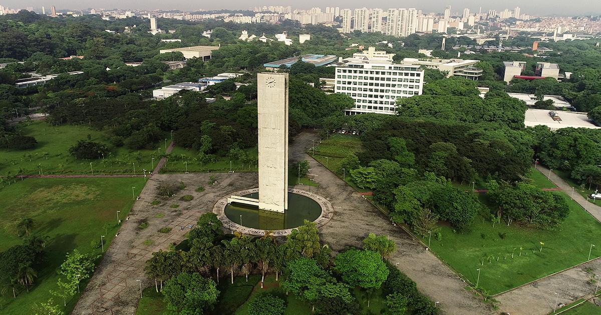 Praça do Relógio, na Universidade de São Paulo - Foto: George Campos / USP Imagens