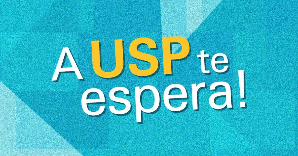 - Foto: A USP te espera/Reprodução