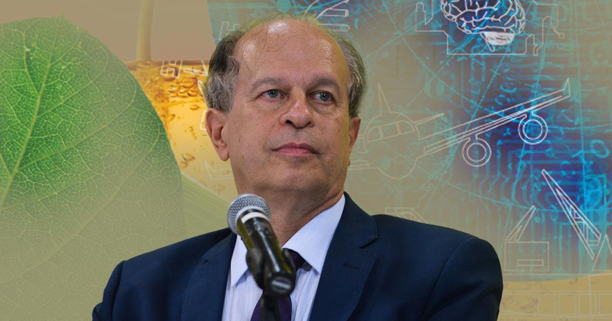Renato Janine Ribeiro - Montagem sobre foto de Valter Campanato/EBC e JC Noticias/SBPC