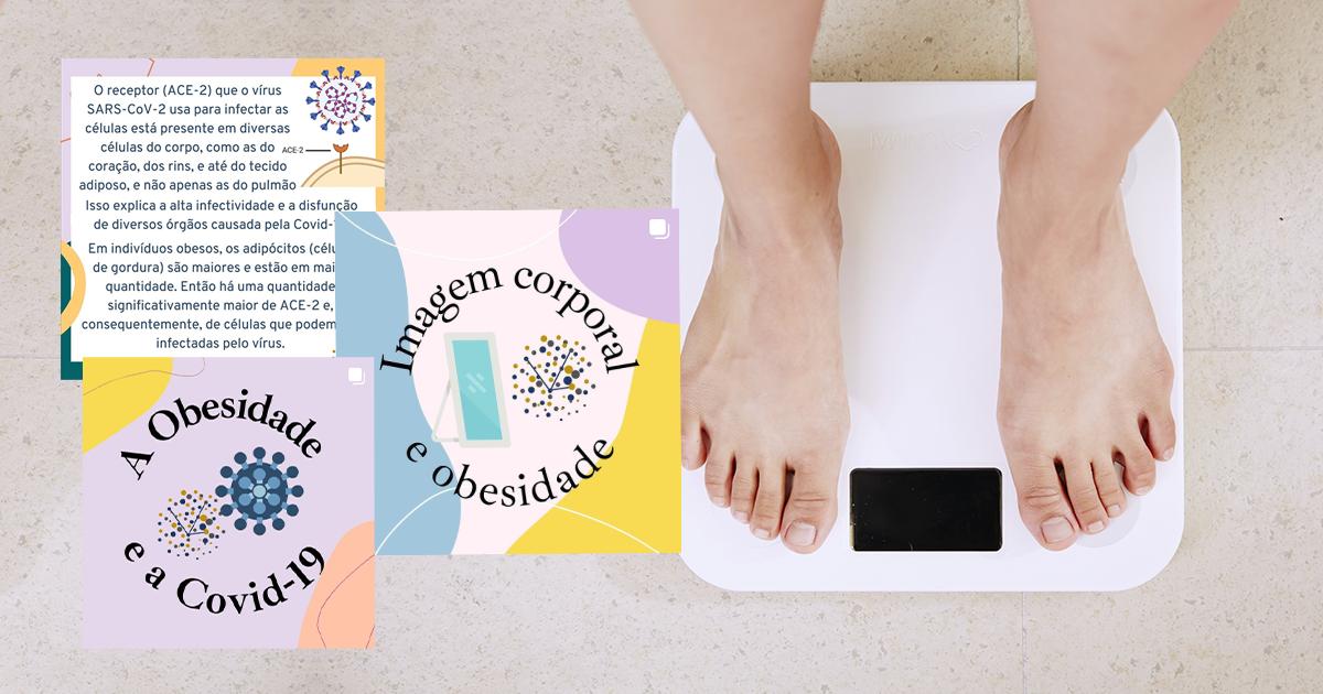 Arte sobre foto/ Unsplash/ Click obesidade