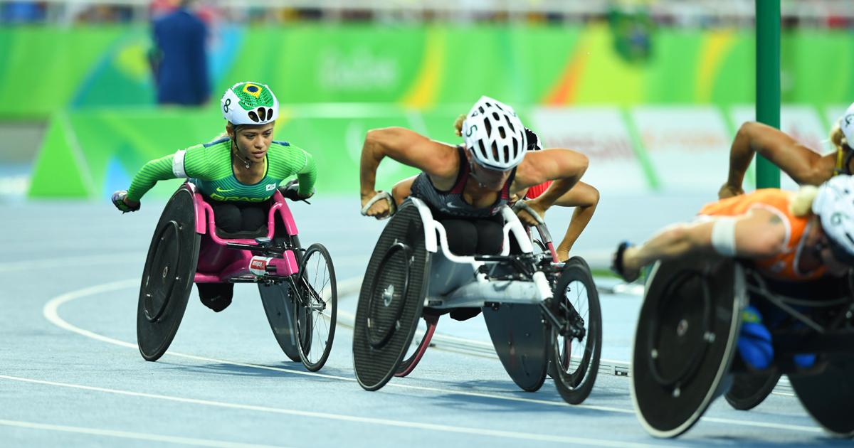 Corrida dos 1500 metros feminino nos Jogos Paralímpicos do Rio, em 2016 - Foto: Tomaz Silva / Agência Brasil