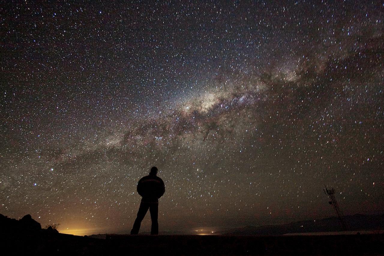 Via Láctea vista do deserto do Atacama - Foto: ESO/A. Fitzsimmons/ Wikimedia Commons
