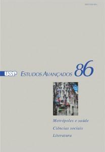 Capa da revista Estudos Avançados nº 86