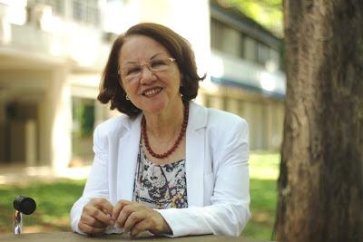 A professora Maria Aparecida Ruas explica que São Carlos faz parte dos primórdios da história da Fapesp