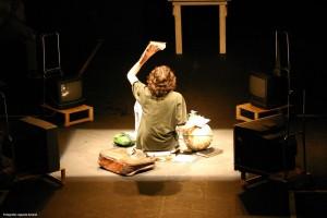 Cena de ensaio de peça | Foto: Águeda Amaral
