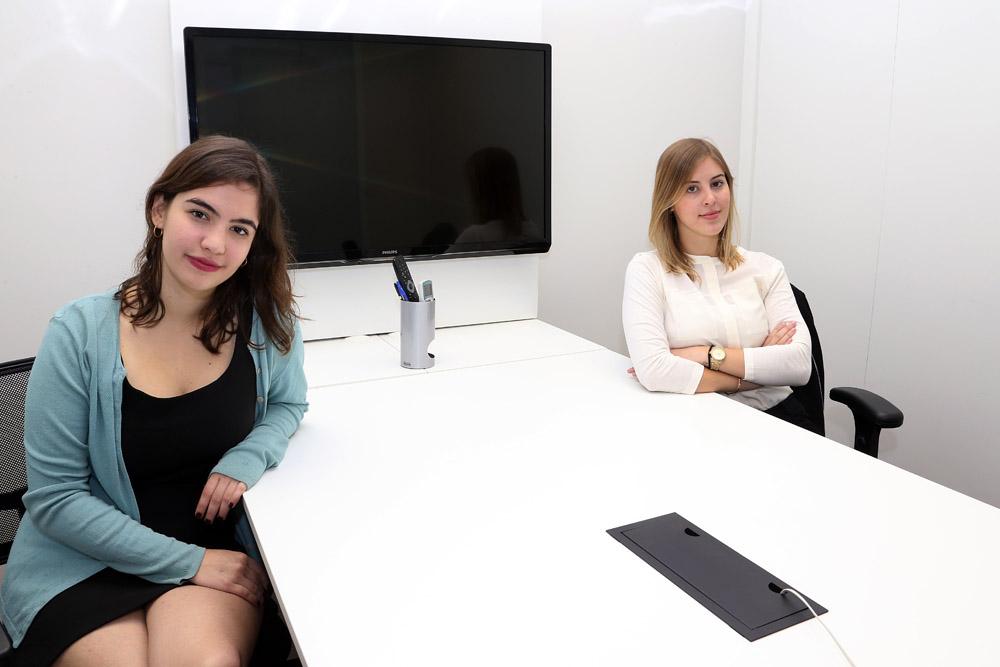 Marina Ruzz e Ana Paula Bragai - Foto: Marcos Santos/USP Imagens