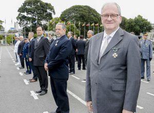 Reitor da USP recebe Medalha do Exército Brasileiro