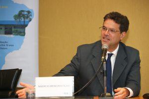"""Naercio Menezes Filho no Ciclo de Conferência Repensar o Brasil """"A desigualdade no Brasil"""". Foto: Cecília Bastos/Usp Imagens Local: FEA"""