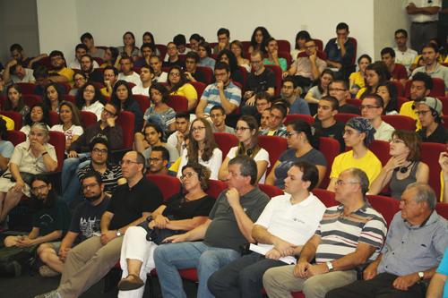 Plateia - Foto: via Assessoria de Comunicação - IFSC/USP