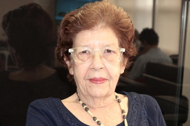 Regina Salgado Campos - Foto: Leonor Calasans/IEA