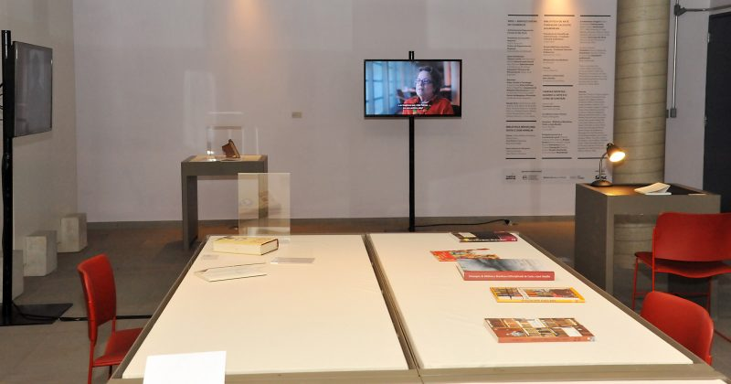 "Mostra ""Tarefas Infinitas"", na Biblioteca Brasiliana - Foto: Jorge Maruta/USP Imagens"
