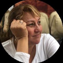 Cinderela Caldeira, editora de atualidades do Jornal da USP - Foto: Arquivo pessoal