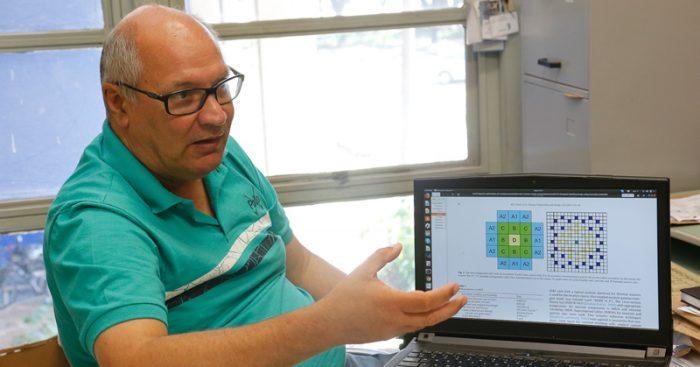 Professor Claudio Geraldo Schön, coordenador do novo curso de Engenharia Nuclear – Foto: Cecília Bastos / USP Imagens