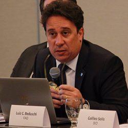 Luiz CArlos Beduschi Filho - EACH e FAO/ONU. FOTO: Secretaría de la Integración Social Centroamericana