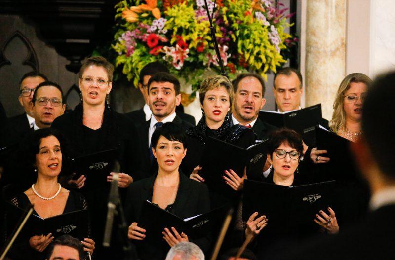 Concerto de Inauguração do órgão de tubo - Foto: Cecília Bastos/USP Imagens
