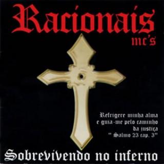 Capa do CD Sobrevivendo no inferno - Foto: Divulgação
