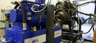 Bancada dinanométrica automatizada instalada no Laboratório de Motores do IPT será uma das ferramentas usadas no projeto - Foto: Divulgação/IPT