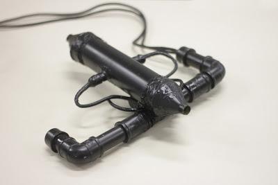 Protótipo do sensor capaz de medir a poluição da água. Foto: Divulgação / Assessoria de Comunicação ICMC/USP