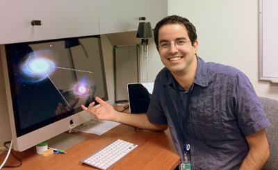 Astrofísico e professor do Instituto de Astronomia, Geofísica e Ciências Atmosféricas (IAG) da USP, Rodrigo Nemmen | Foto: Divulgação