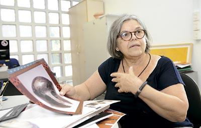 A professora Elaine Hirata | Foto: Marcos Santos/USP Imagens