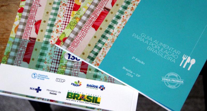 Guia Alimentar da População Brasileira - Foto: Divulgação/Ministério da Saúde